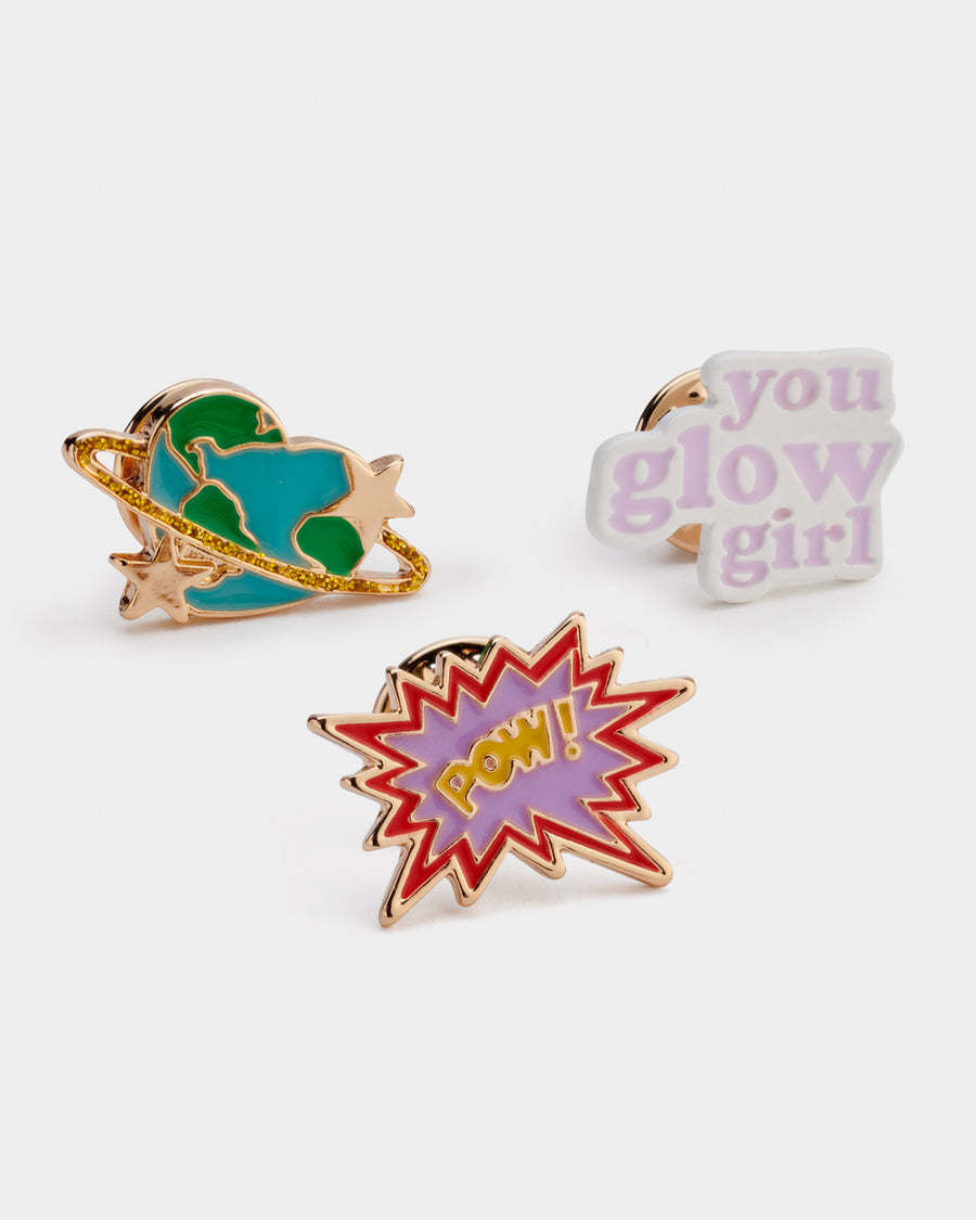 Girls Gift Badge Glow Girl