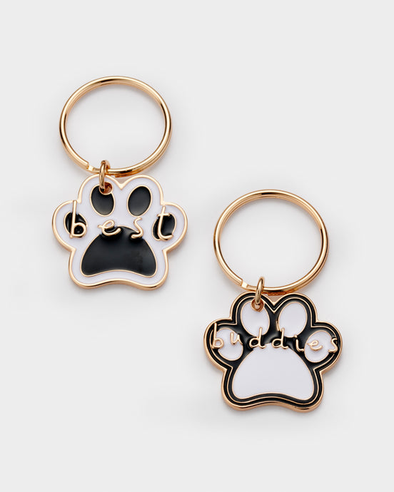 Dog Gift Dog charm Best buds