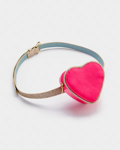Glow Girl Heart Purse Belt