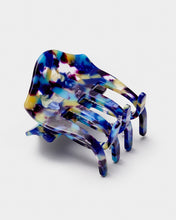 Load image into Gallery viewer, Blue bulldog hair clip