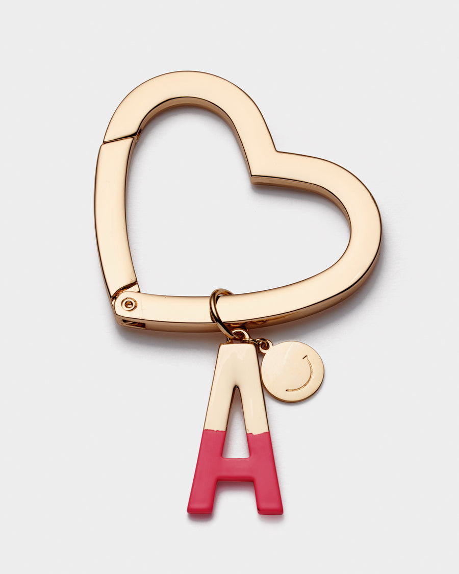 Girls Gift Initial bag charm