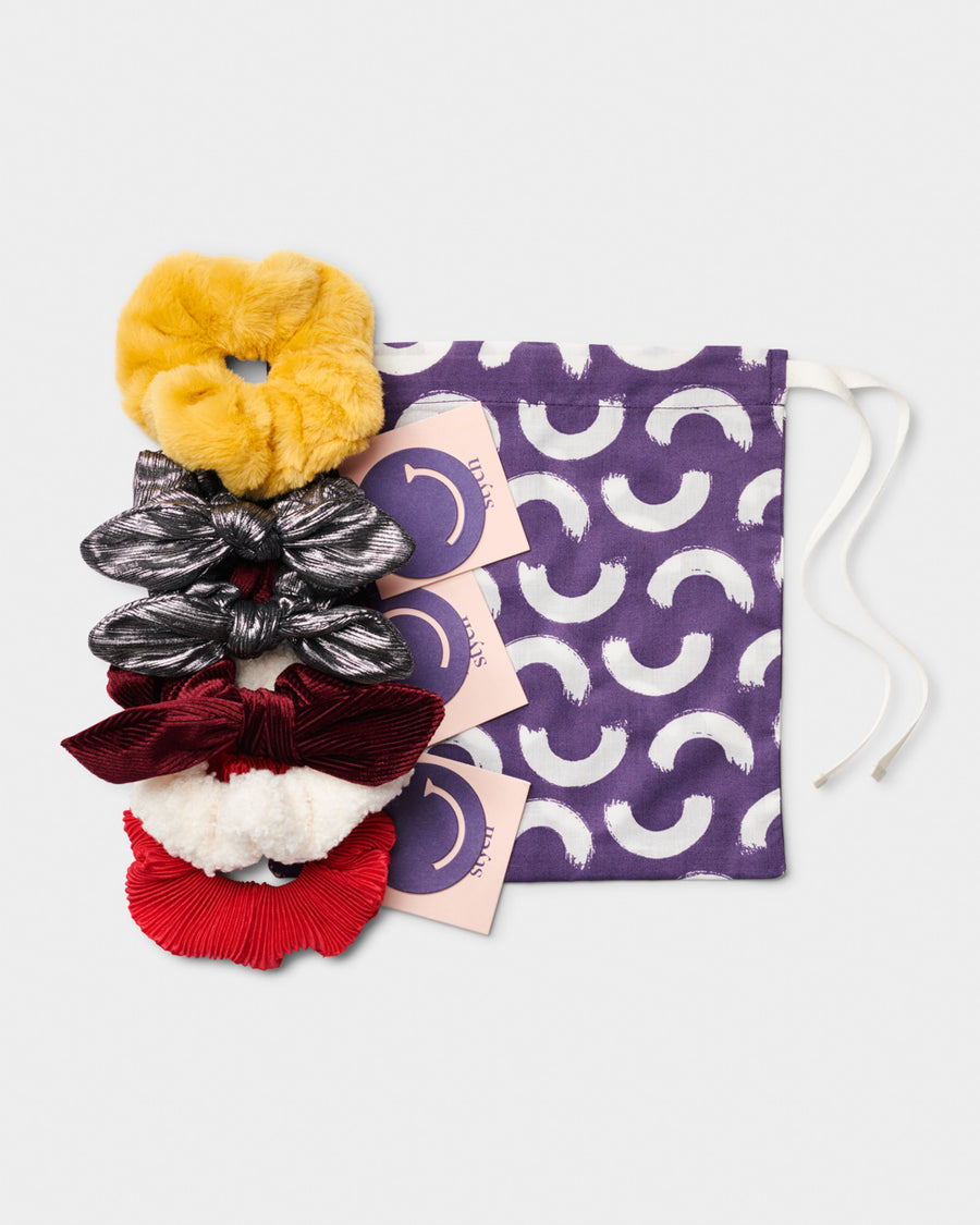 Girls Scrunchie Gift Set