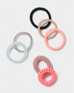 Neon Sprial Hair bands