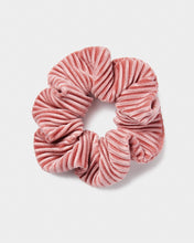 Load image into Gallery viewer, Pink Crinkle Velvet Scrunchie