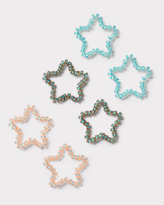 Star Spiral hair bands