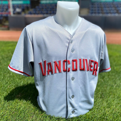Vancouver Canadians Jersey Road Grey