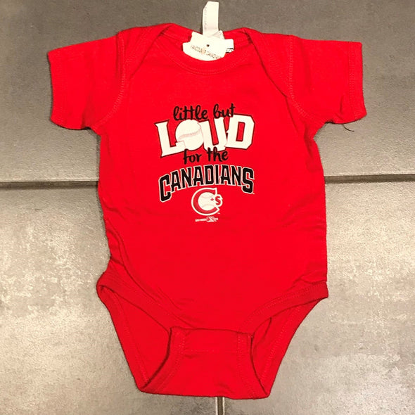 Vancouver Canadians Baby Onesie Red