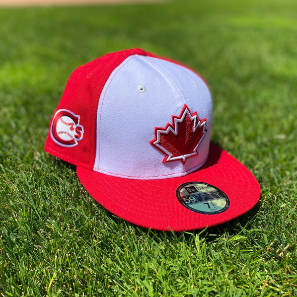 Vancouver Canadians New Era Maple Leaf Red and White