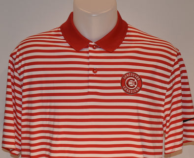 Vancouver Canadians Polo Nike Candy Striped