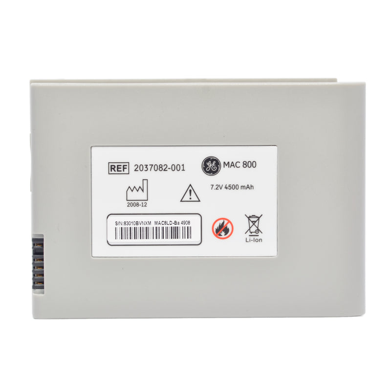 GE MAC 800 ECG battery 7.4v 4.5Ah