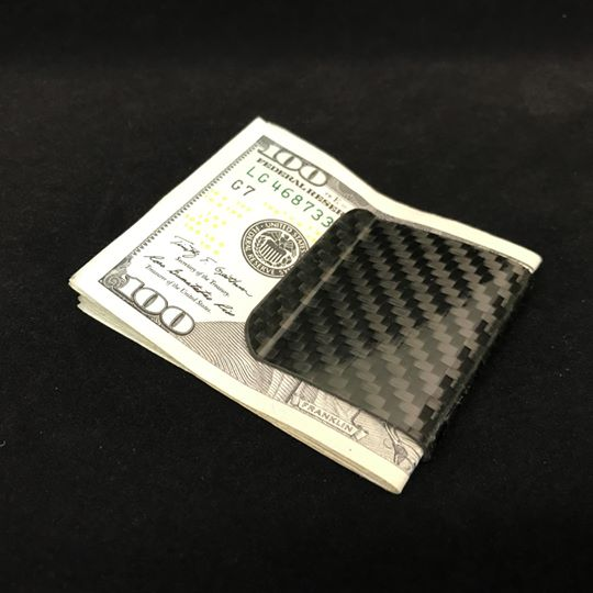 YAGI Dry Carbon Money Clip