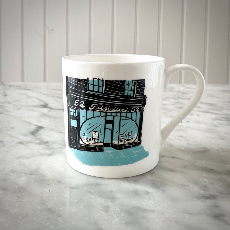 Fitzbillies Bone China Mug