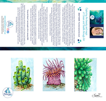 Coral Sea Plants 2 (blank inside) Greeting Card