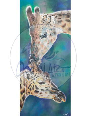 GIRAFFE DUO - PRINTS FOR A CAUSE