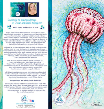 Jellyfish Scribbles (blank inside) Greeting Card