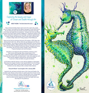 Seahorse Duo (blank inside) Greeting Card