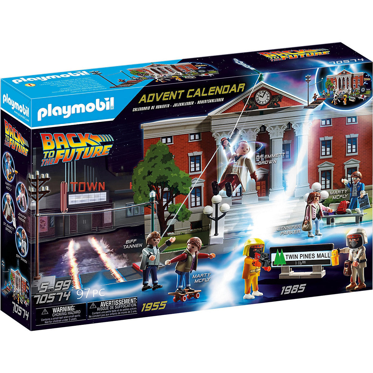 Playmobil Back to the future Adventskalender