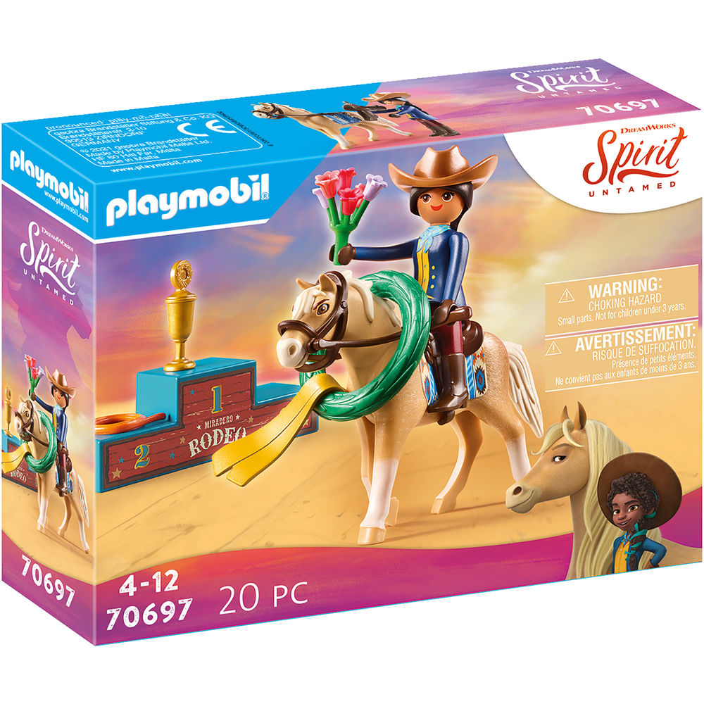 Playmobil Spirit Rodeo Pru 70697