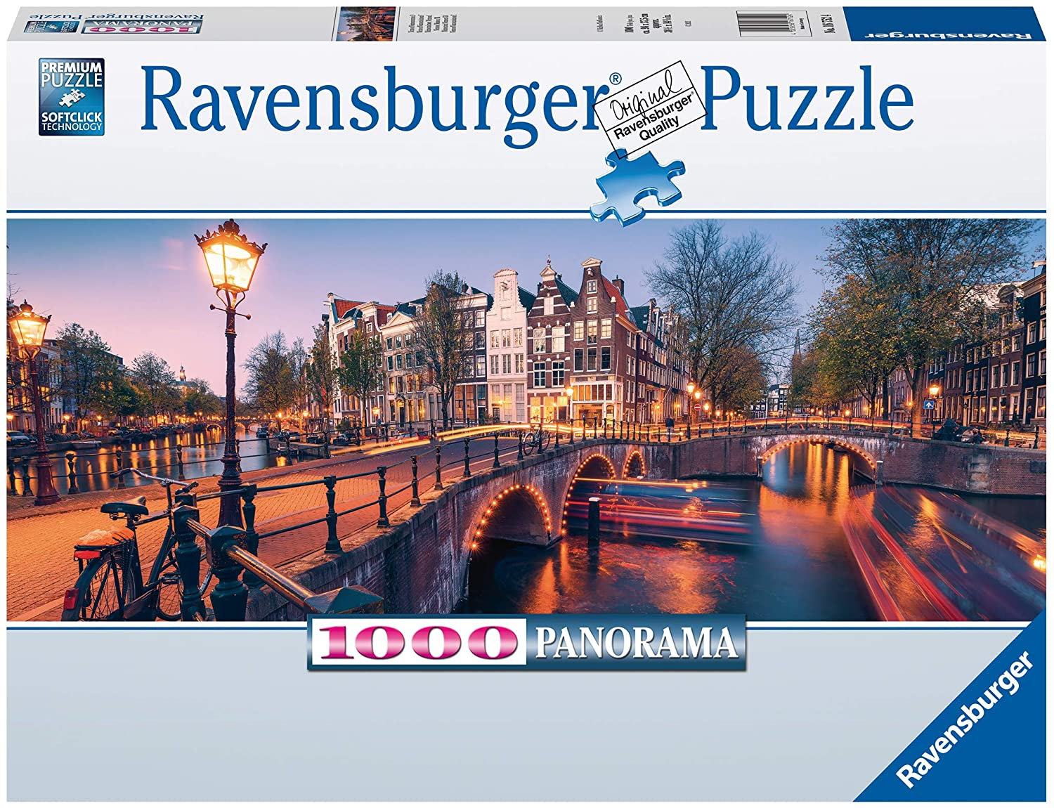 Ravensburger Puzzle Abend in Amsterdam 1000 Teile