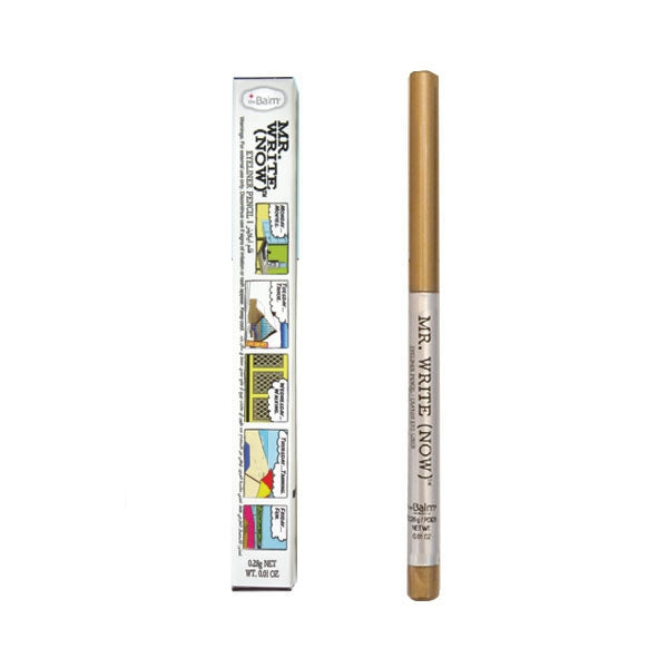 The Balm Mr. Write Eyeliner Pencil - Jac B. Bronze