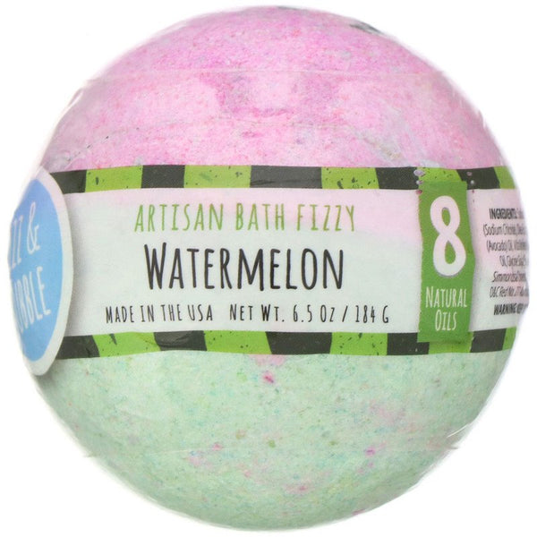 Fizz & Bubble - Watermelon, 6.5 oz (184 g)