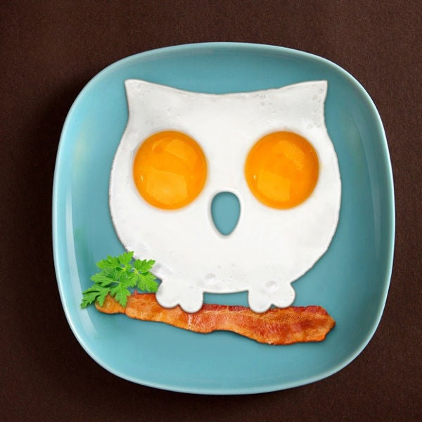 Funny Side Up Owl Breakfast Mold