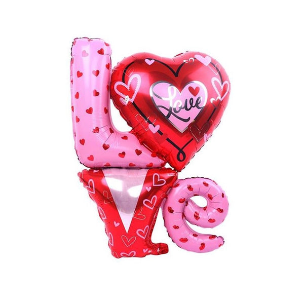 Love & Heart Foil Balloon