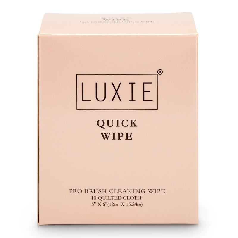 Luxie Quick Wipes 10 Count