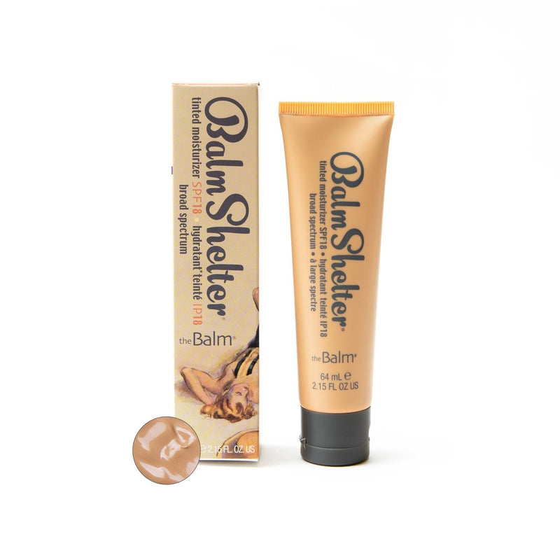 The Balm Balmshelter Tinted Moisturizer Spf 18 - Medium Dark