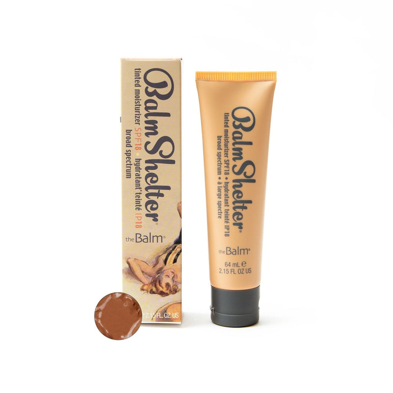 The Balm Balmshelter Tinted Moisturizer Spf 18 - After Dark