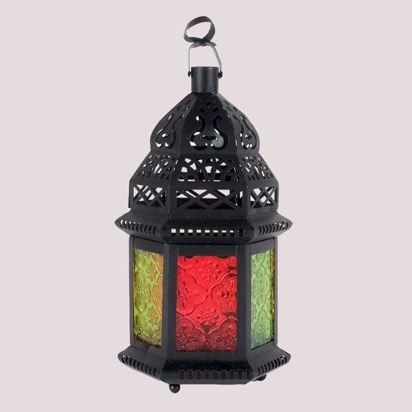 Medium Colored Doors Lantern
