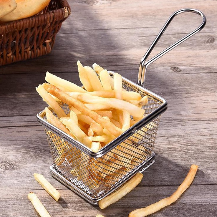 Stainless French Fries Basket - 6 Pack