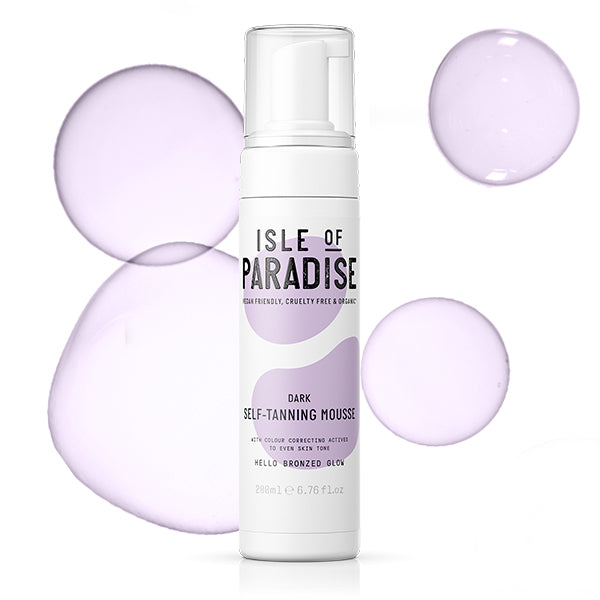 Isle Of Paradise Self Tanning Mousse - Dark