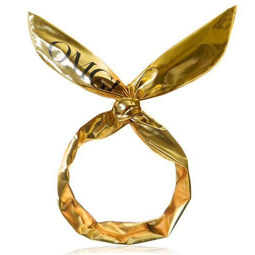 Double Dare Omg! Platinum Hairband - Gold