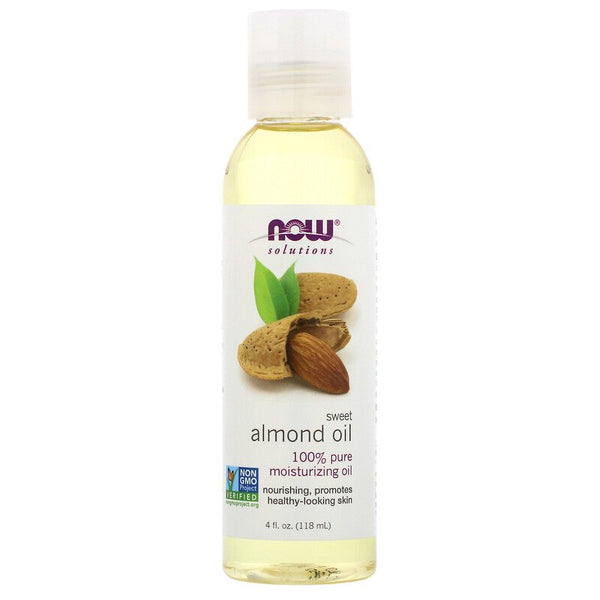 Now Foods - Sweet Almond Oil, 4 Fl Oz (118 Ml)
