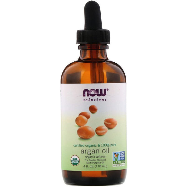Now Foods - Organic & 100% Pure Argan Oil, 4 Fl Oz (118 Ml)