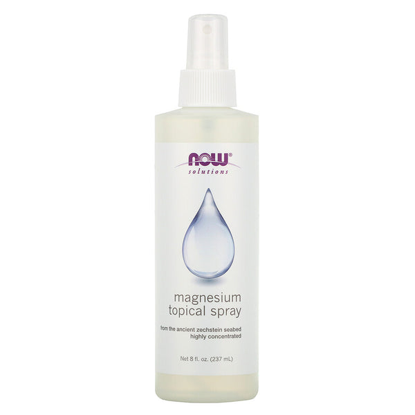 Now Foods - Magnesium Topical Spray, 8 fl oz (237 ml)