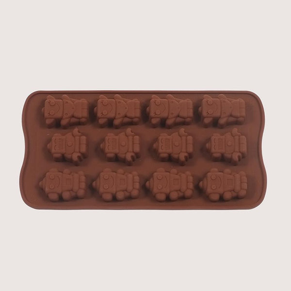 Silicone Robots Mould Tray