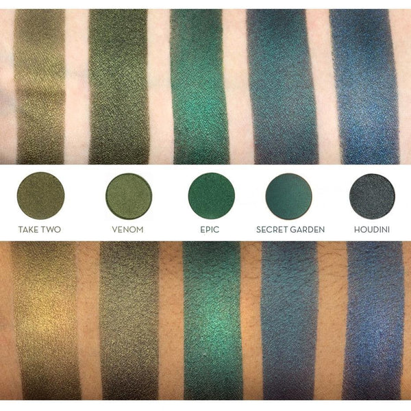 Makeup Geek Foiled Eyeshadow Pan ( Houdini )