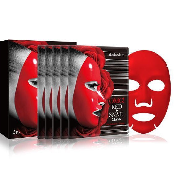 Double Dare Omg! Red + Snail Mask 5 Pack Bundle