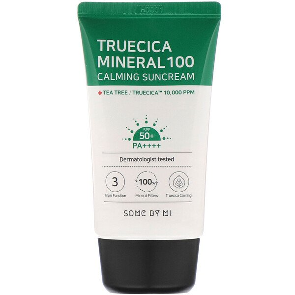 Some By Mi, Truecica Mineral 100 Calming Suncream, SPF 50 (50 ml)