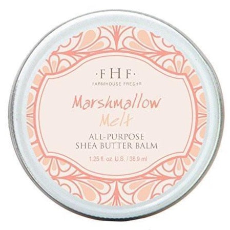 Farmhouse Fresh - All-Purpose Shea Butter Balm - Marshmallow Melt