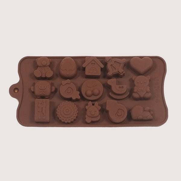 Silicone Lovers Mould Tray