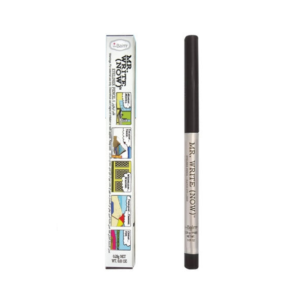 The Balm Mr. Write Eyeliner Pencil - Dean B. Onyx