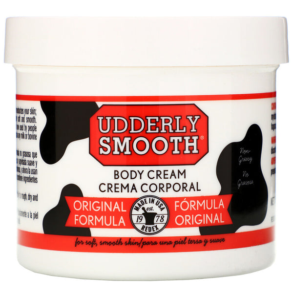 Udderly Smooth - Body Cream, Original Formula, 12 oz (340 g)