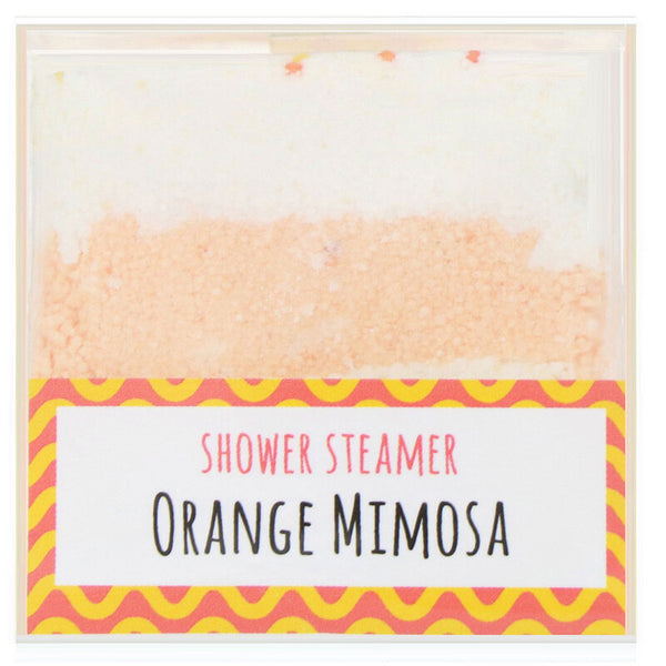 Fizz & Bubble - Shower Steamer, Orange Mimosa, 3.8 oz (108 g)