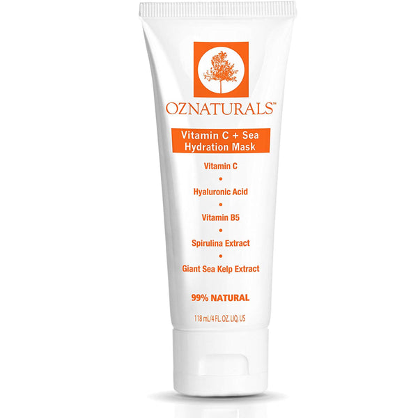 Oz Natural Vitamin C + Sea Hydration Mask