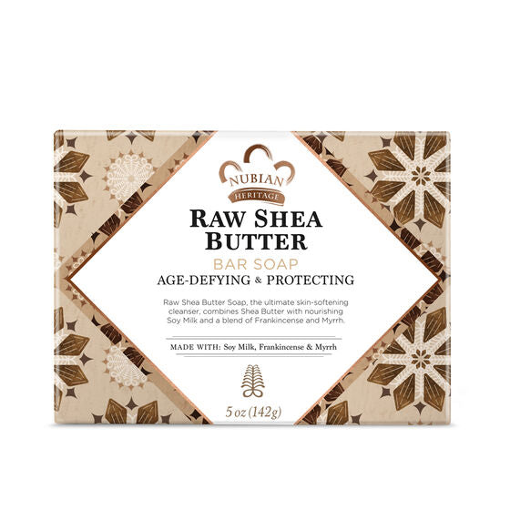 Nubian Heritage - Raw Shea Butter Bar Soap, 5 oz (142 g)
