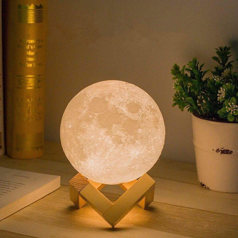 Moon Light With Remote Control - 15 Cm