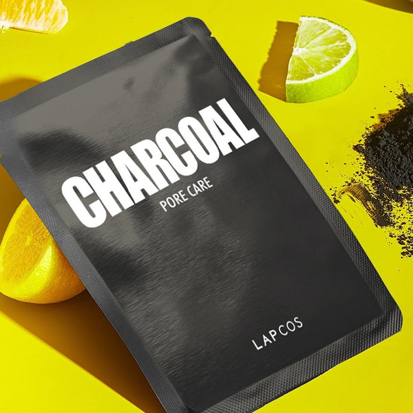 LAPCOS - Daily Skin Mask Charcoal - 5 Pack